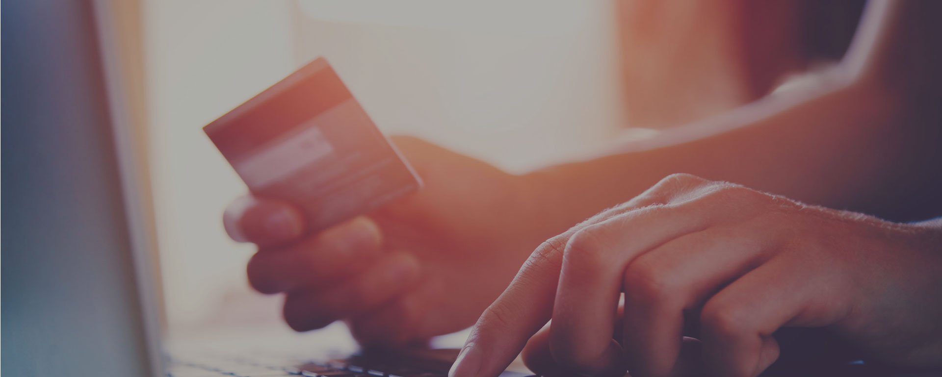 Using credit card to make online payment